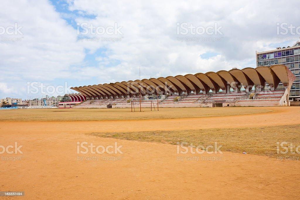 Havana baseball stadium royalty-free stock photo