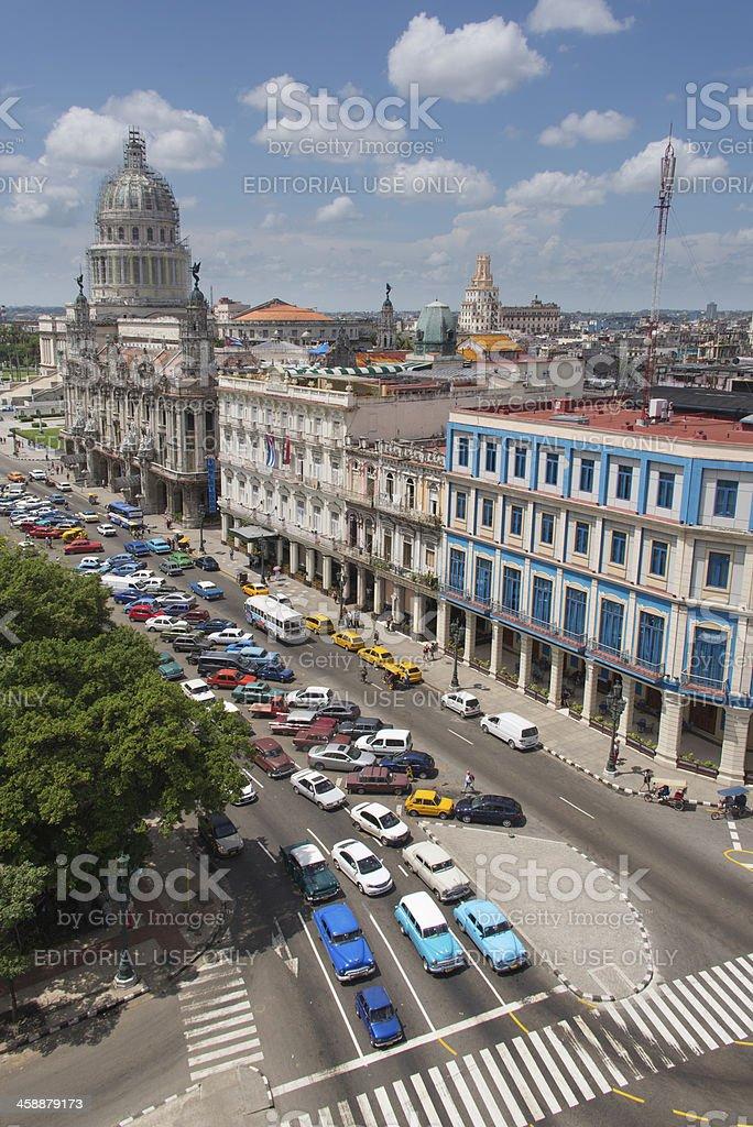 Havana City royalty-free stock photo