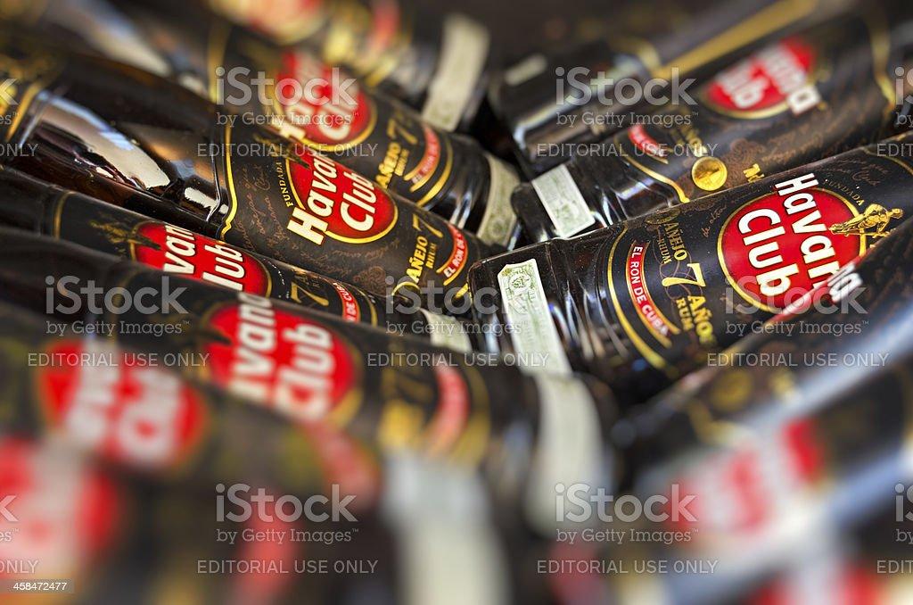 Havana Club - 7 Anos stock photo