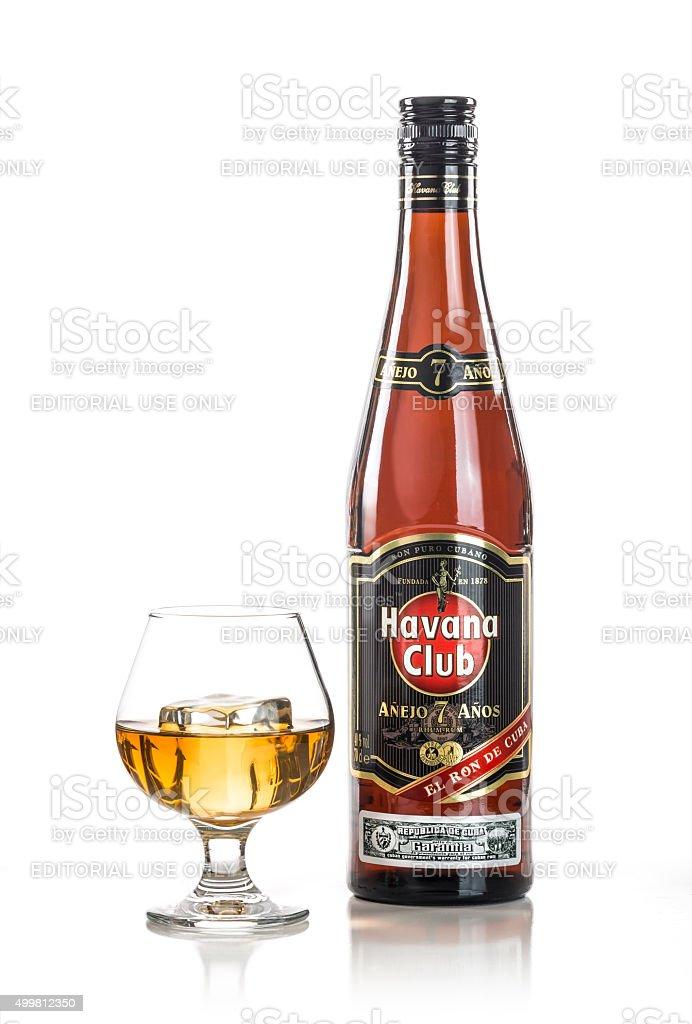 Havana Club 7 Years stock photo