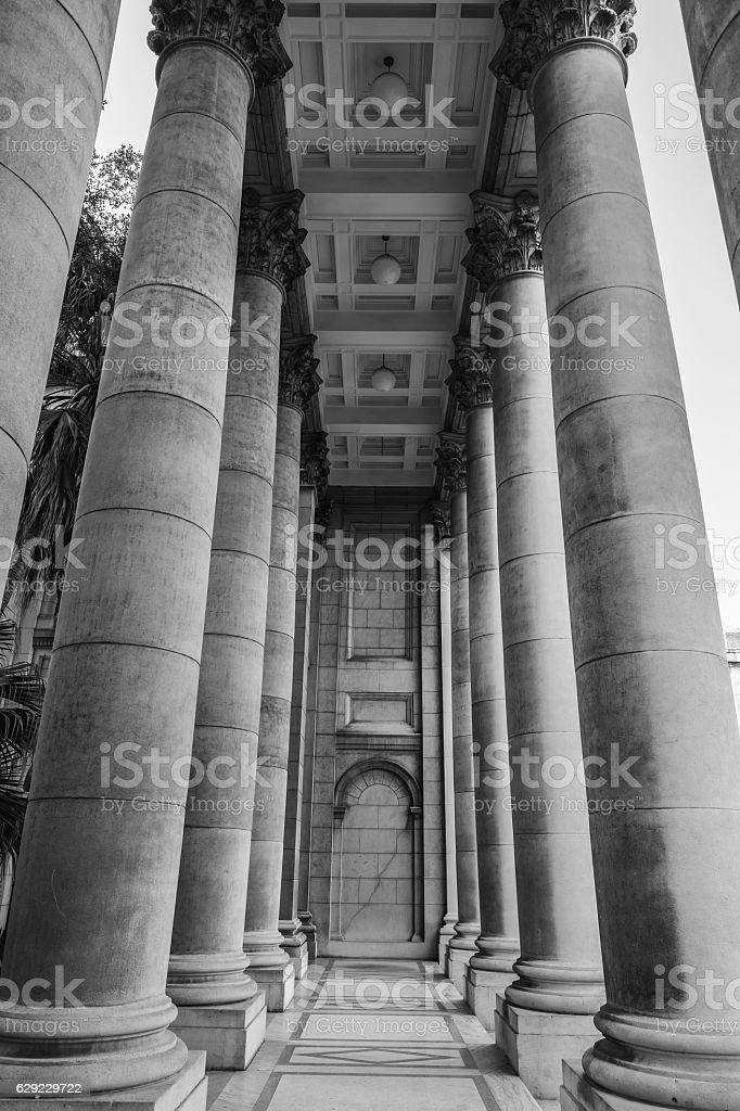 Havana columns stock photo
