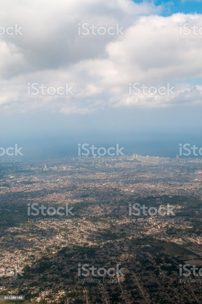 Havana, Cuba aerial views stock photo