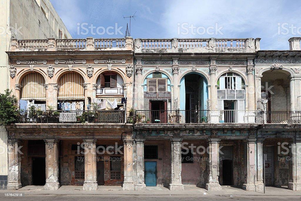 Havana Cuba building front royalty-free stock photo