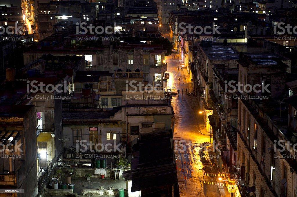 Havana Night royalty-free stock photo