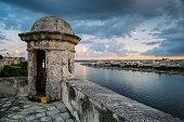 Havana Panorama in the evening