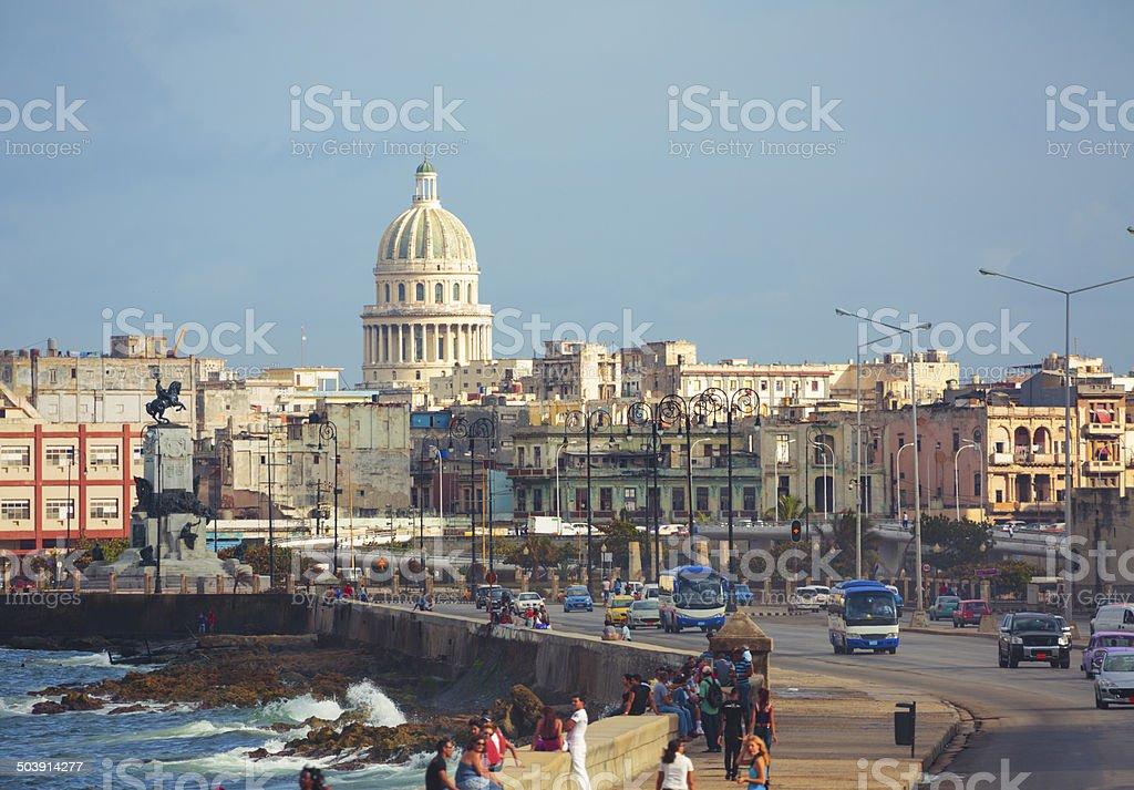 Havana stock photo