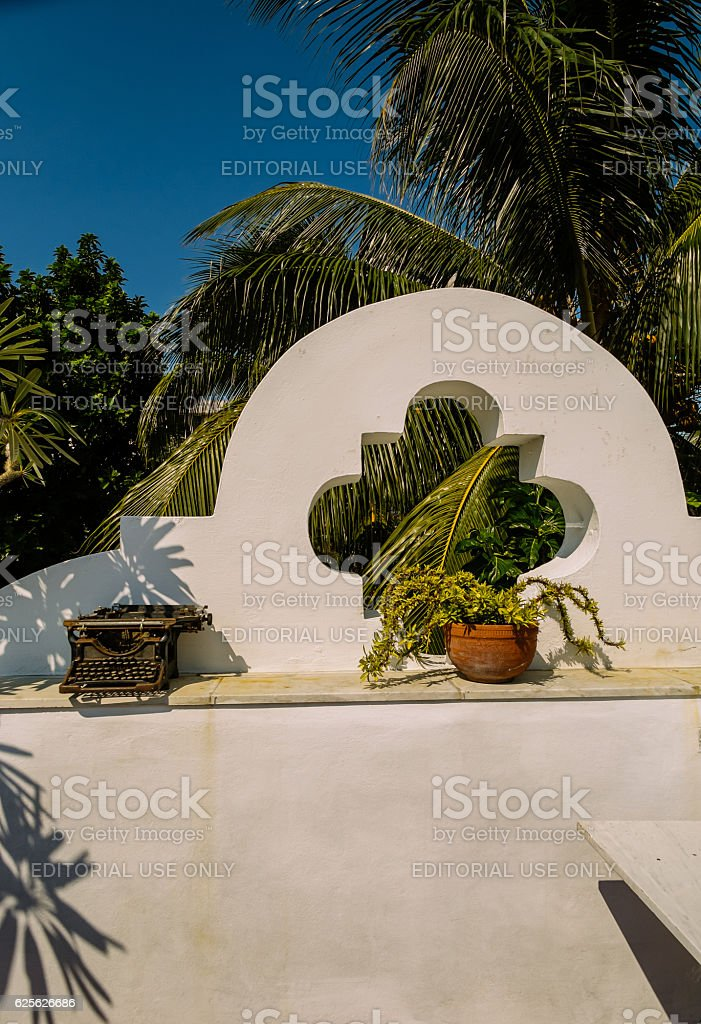 Havana restaurant exterior stock photo
