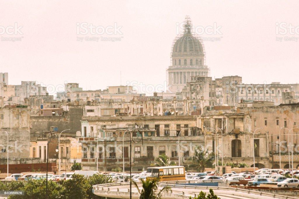Havana Skyline Cuba stock photo
