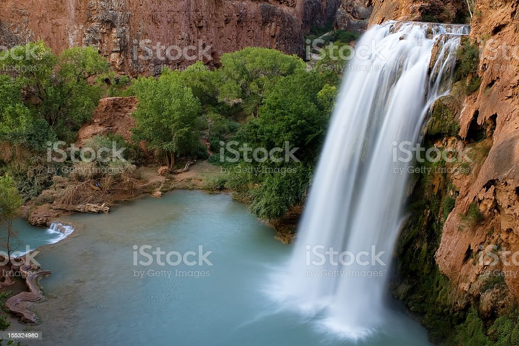 Havasu Falls 8/12/2008 royalty-free stock photo