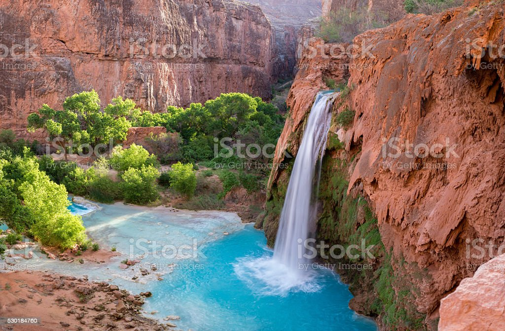 Havasu Falls, Arizona 2 stock photo