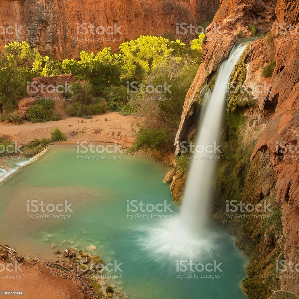 Havasu Falls royalty-free stock photo
