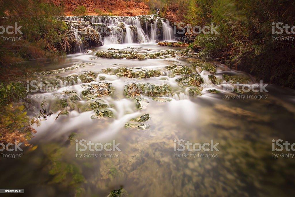 Havasu Waterfall stock photo