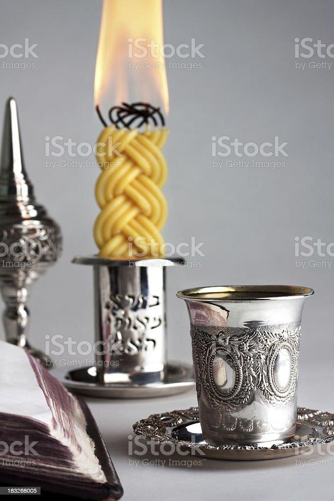 Havdalah royalty-free stock photo