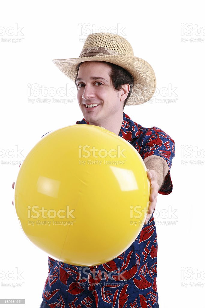 Have A Ball royalty-free stock photo