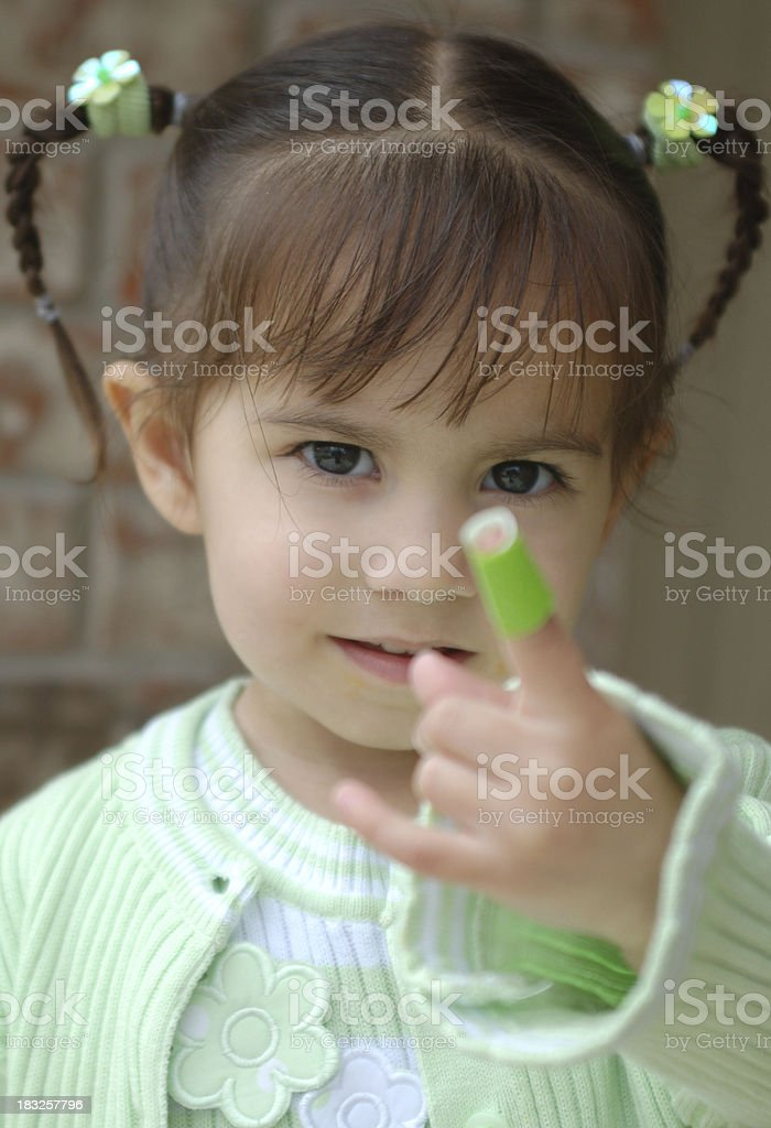 I Have a Boo-Boo stock photo