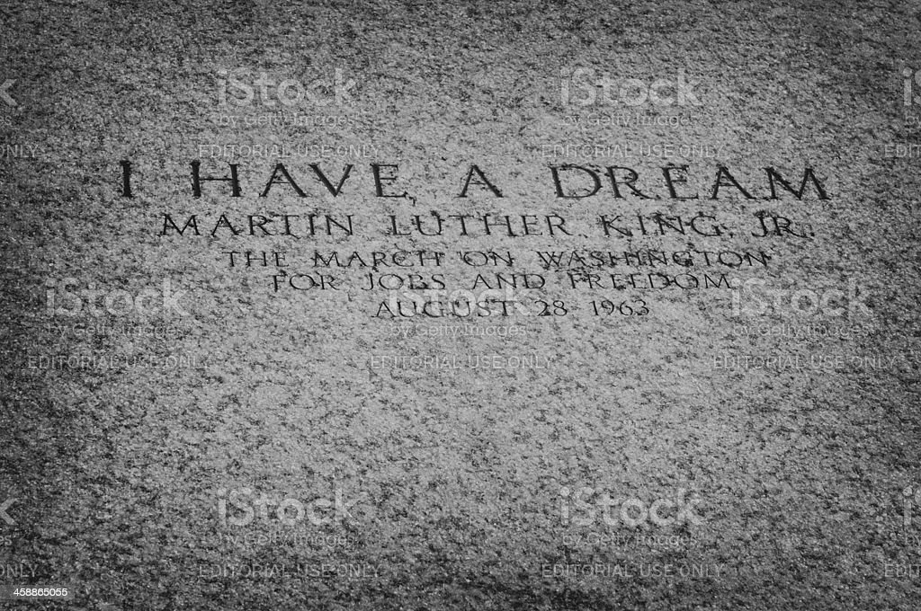 I have a dream royalty-free stock photo