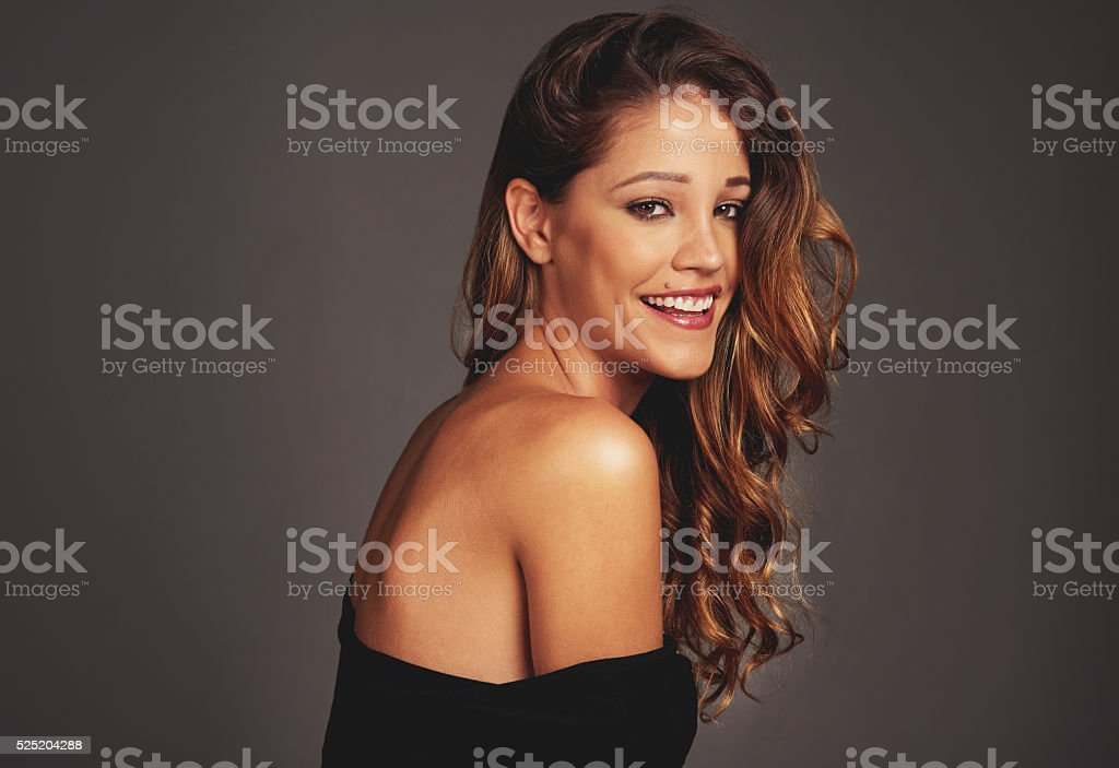 Have a good hair day stock photo