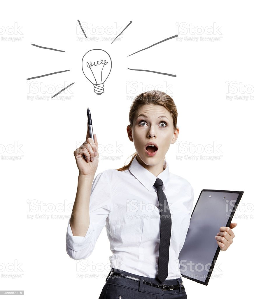 Have a great idea stock photo