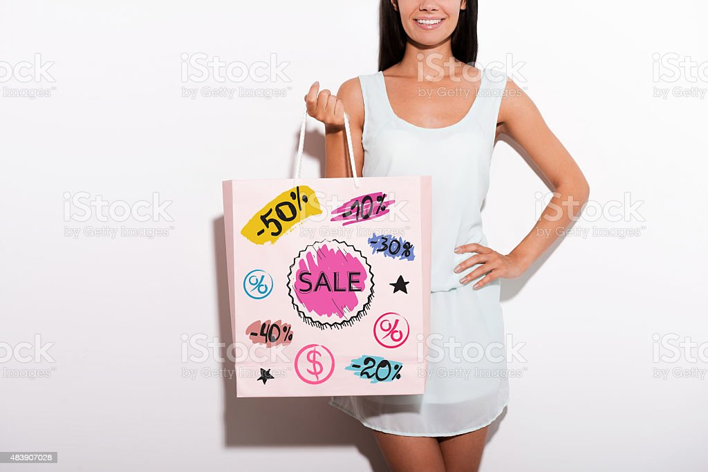 Have a nice shopping! stock photo
