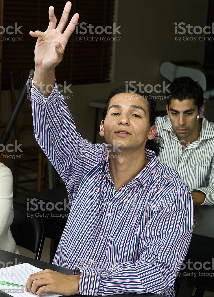 I have a question royalty-free stock photo