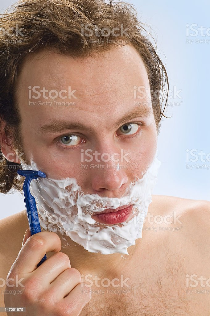 have a shave royalty-free stock photo
