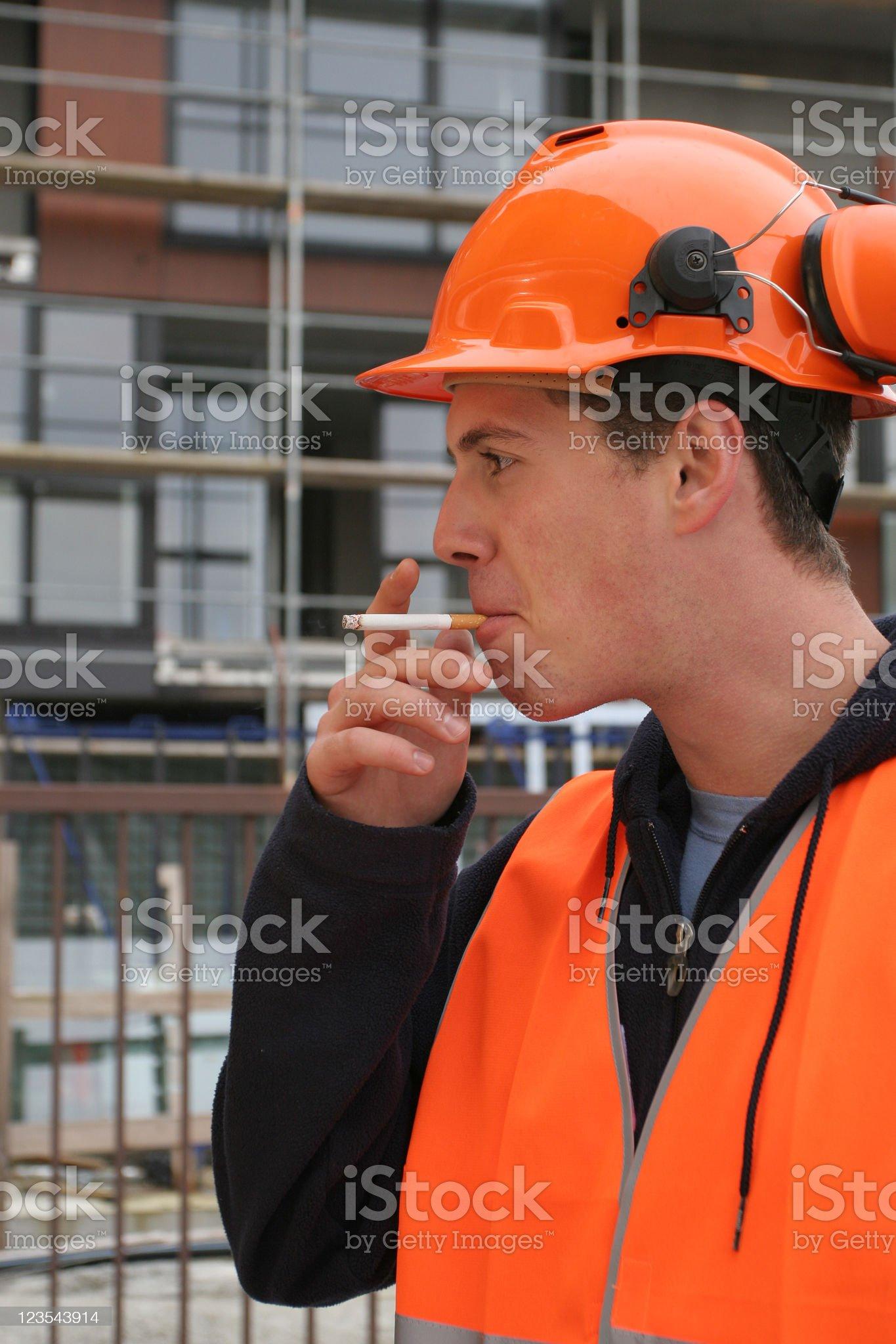 Have a smoke royalty-free stock photo