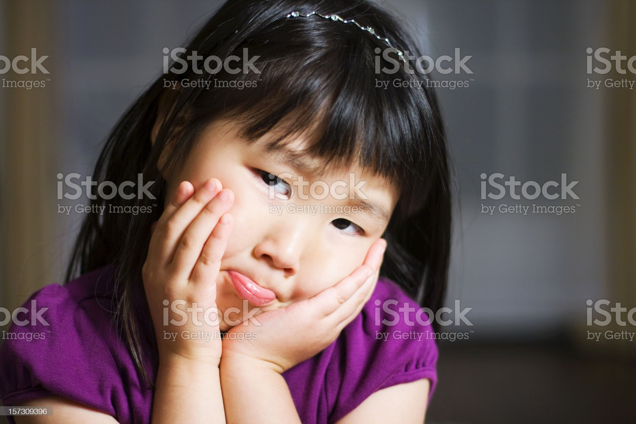 I Have a Toothache royalty-free stock photo