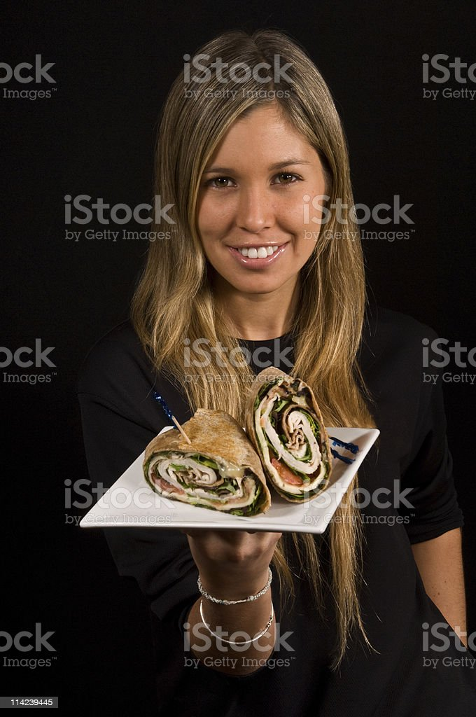 Have a wrap! royalty-free stock photo