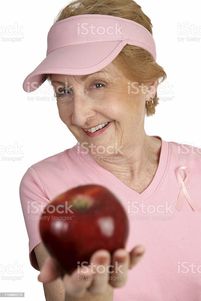 Have An Apple royalty-free stock photo