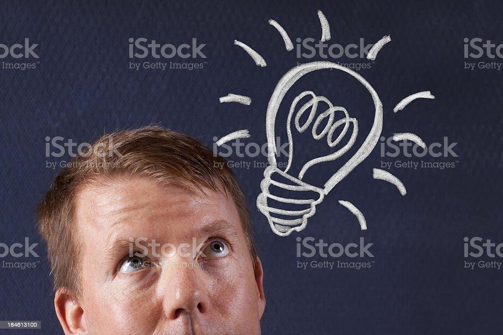 I Have an Idea? stock photo