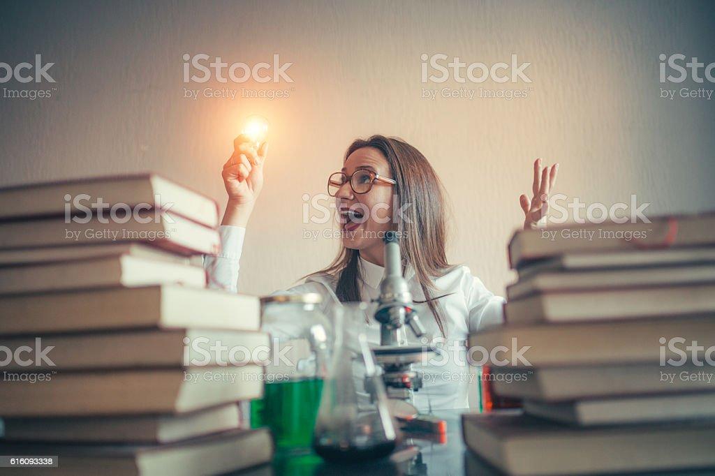 I have an idea stock photo