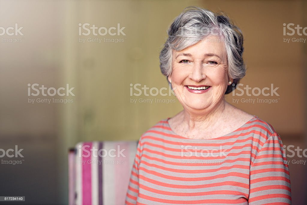 I have every reason to be happy stock photo
