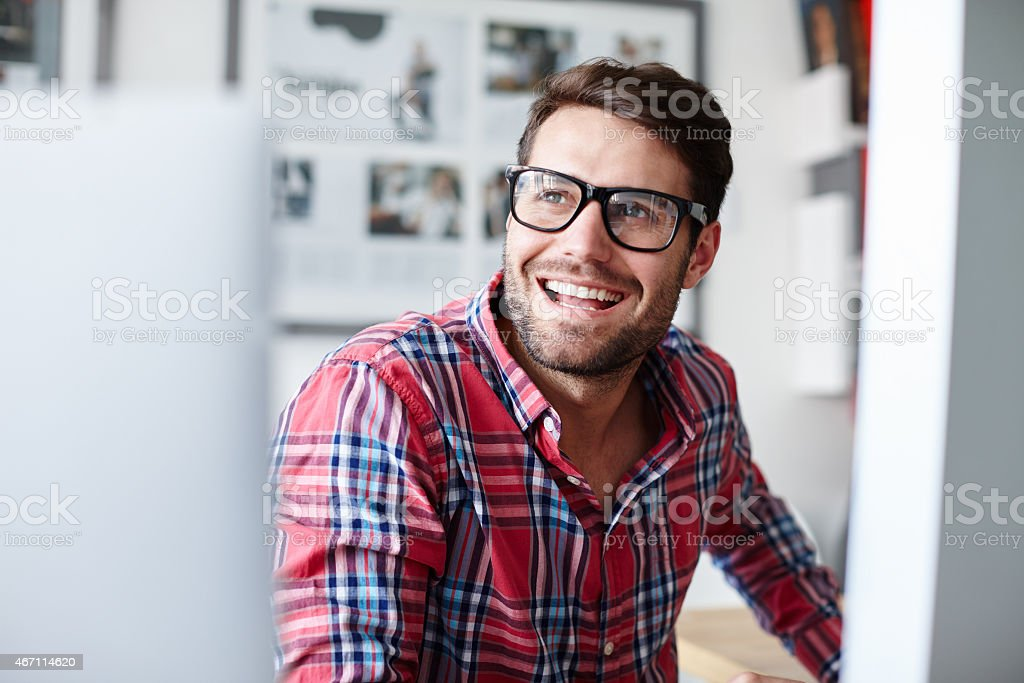 I have every reason to feel positive stock photo