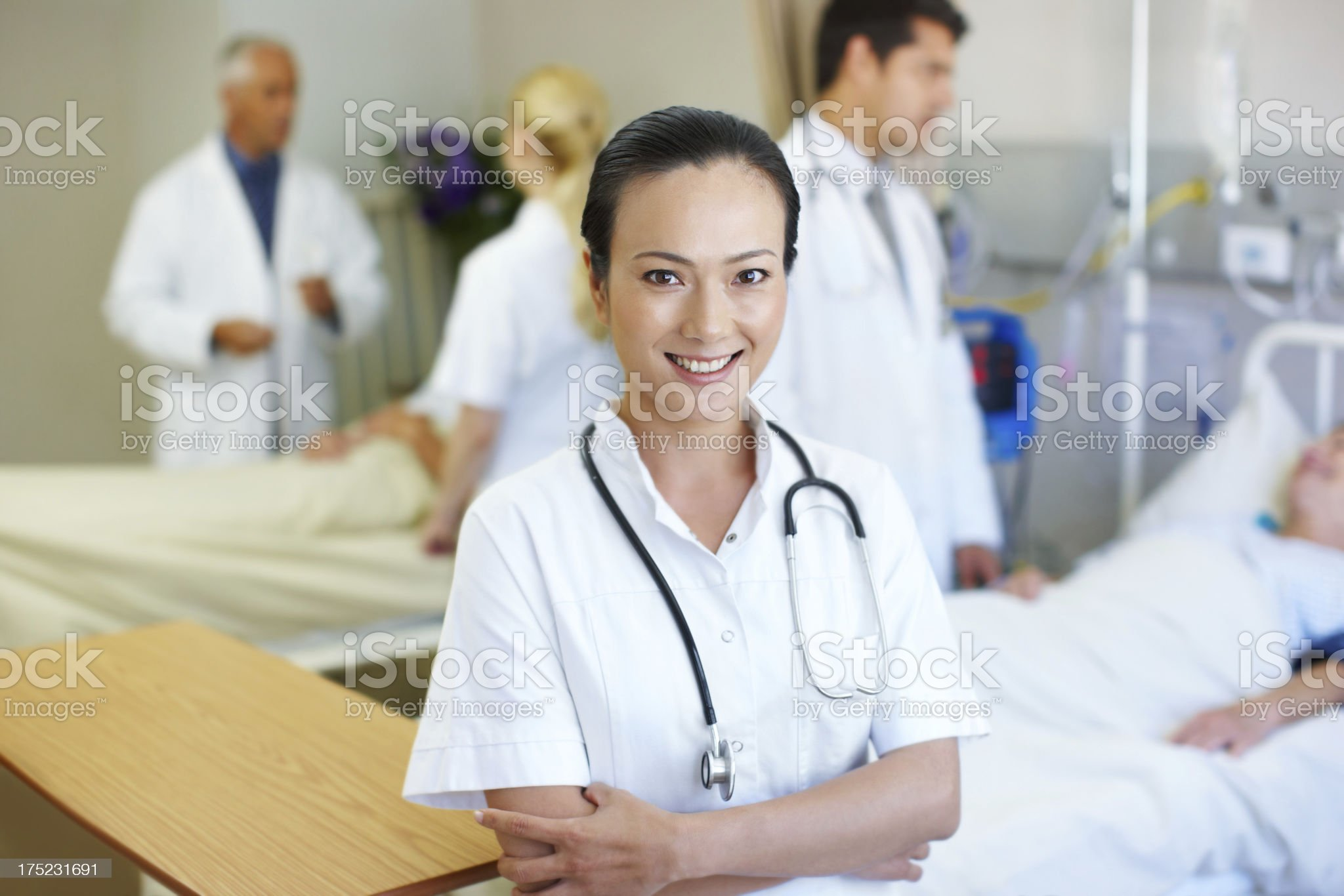I have faith in my medical team royalty-free stock photo