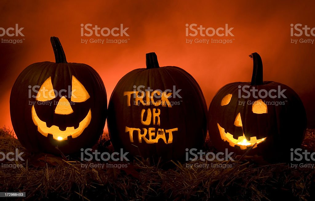 Have Fun Trick Or Treating stock photo