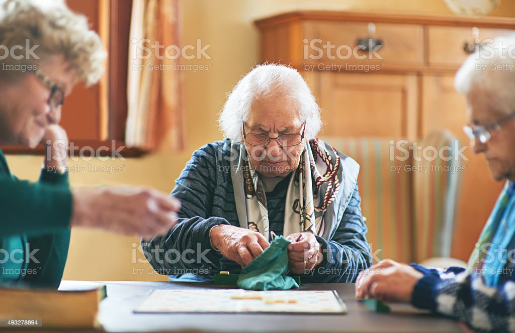 Have I got a word for you stock photo
