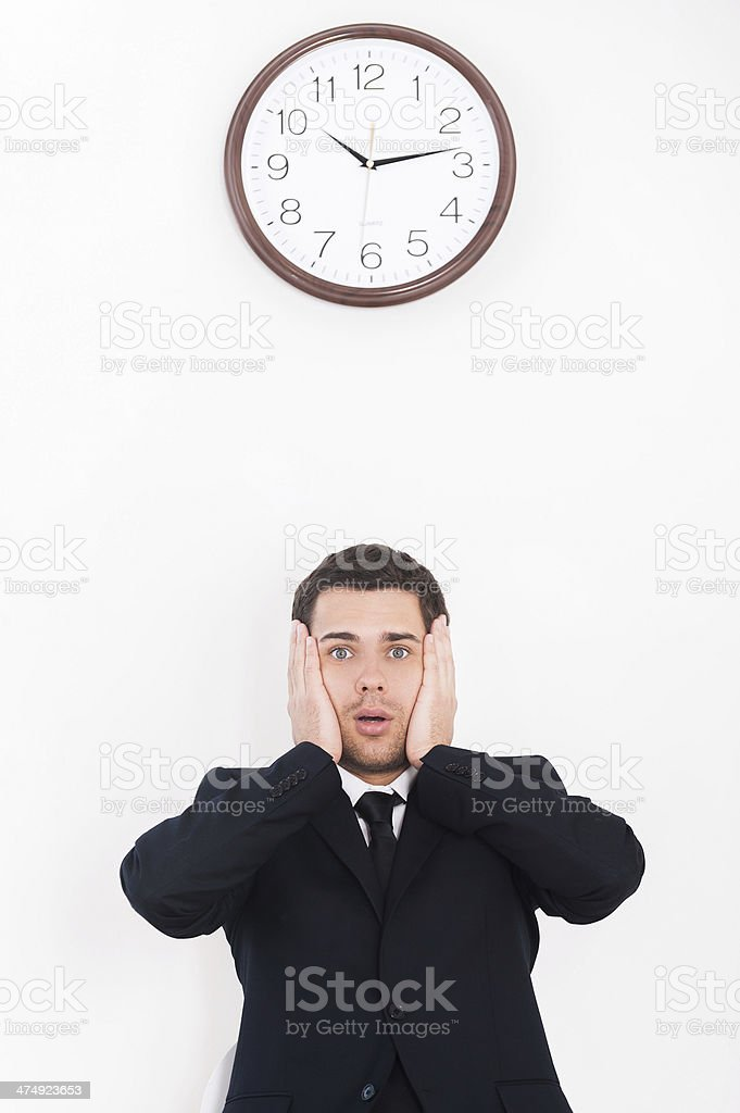 I have no time! royalty-free stock photo