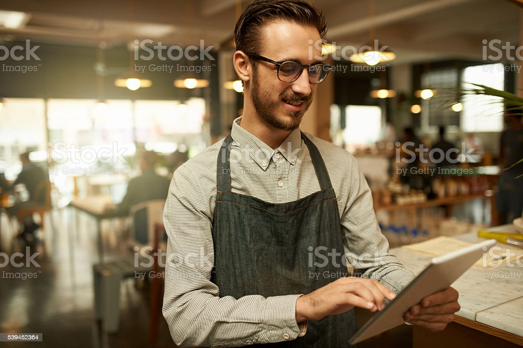 I have so many good reviews online stock photo