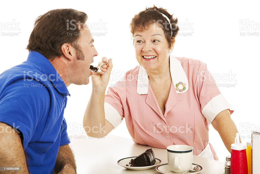 Have Some Cake Sweetie royalty-free stock photo