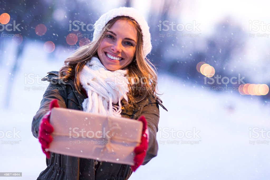 I have something for you stock photo