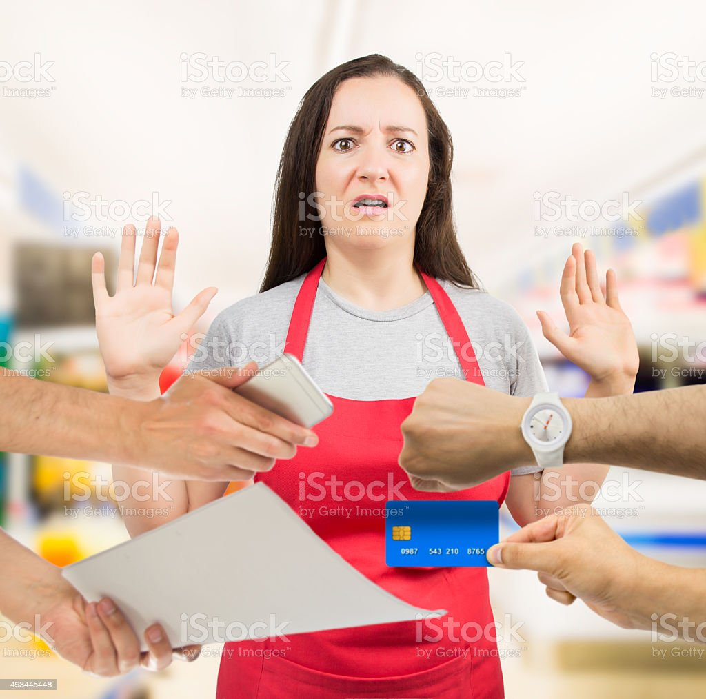 I have too much work stock photo