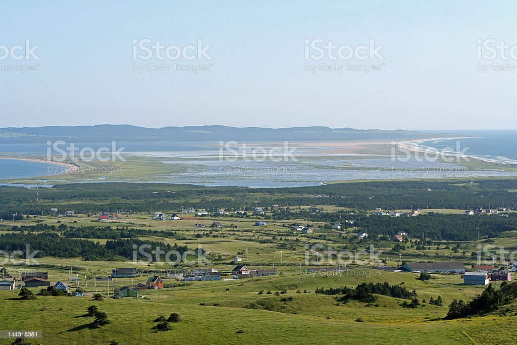 Havre aux Basques royalty-free stock photo