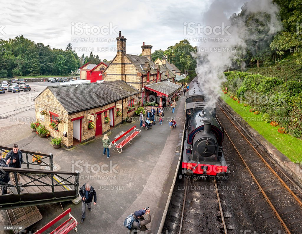 Haverthwaite Station 5621 stock photo