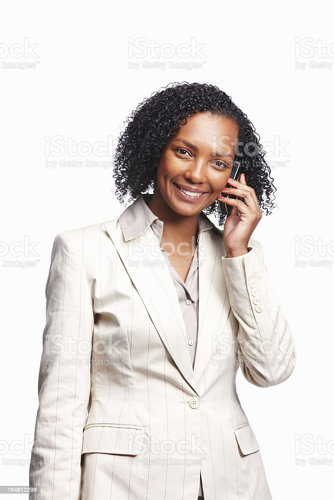 Having a chat royalty-free stock photo