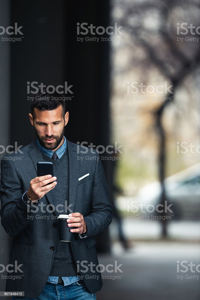 Having a great day at work stock photo