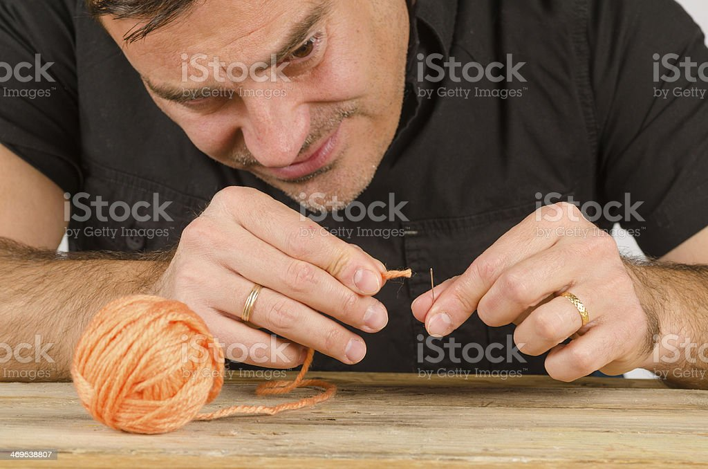 Having a hard time stock photo