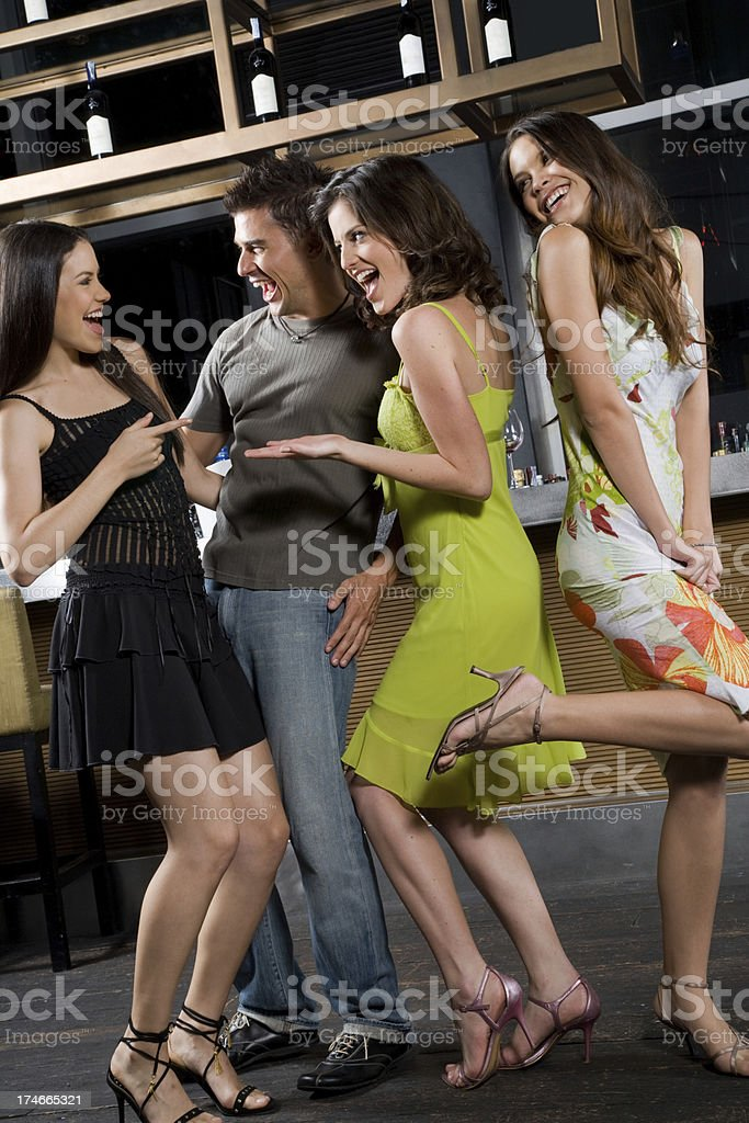 Having A Laugh royalty-free stock photo