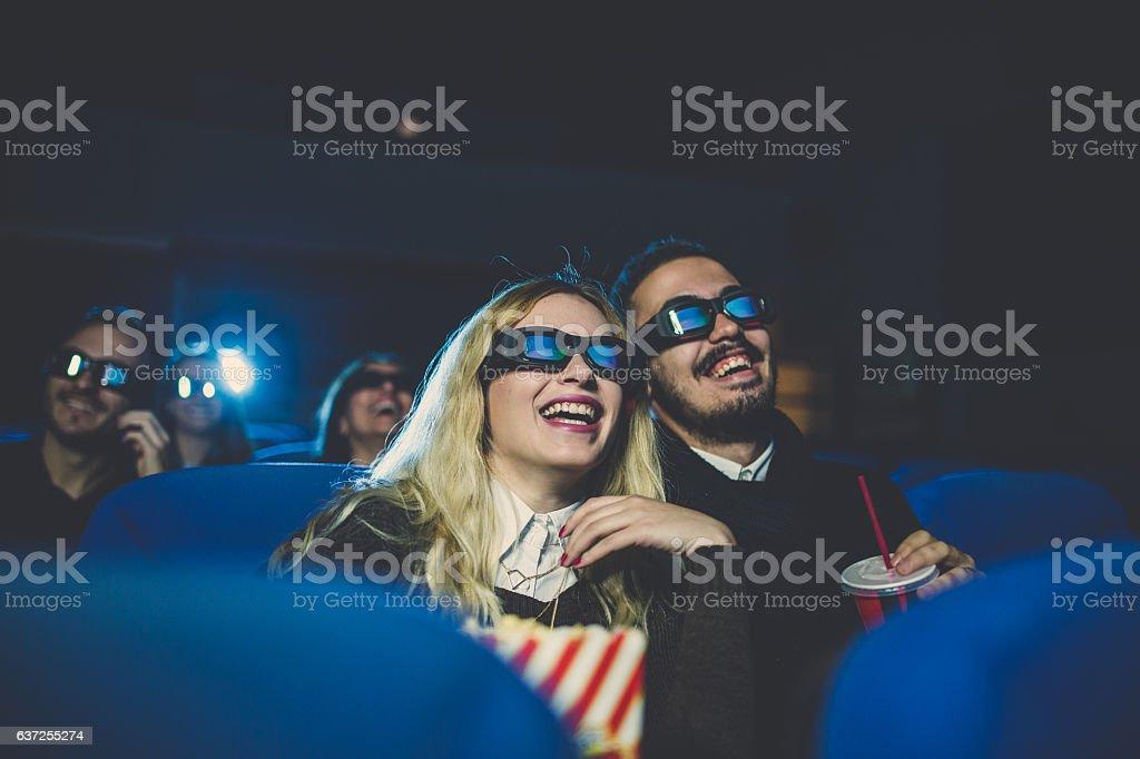Having a laugh stock photo