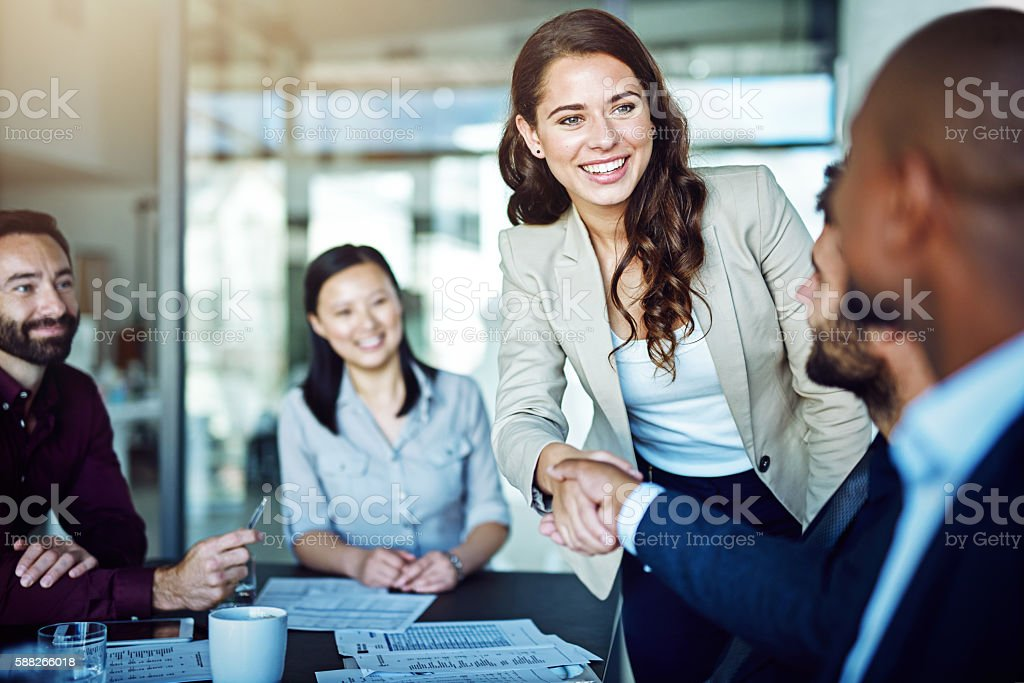 Having a positive attitude is rewarding stock photo