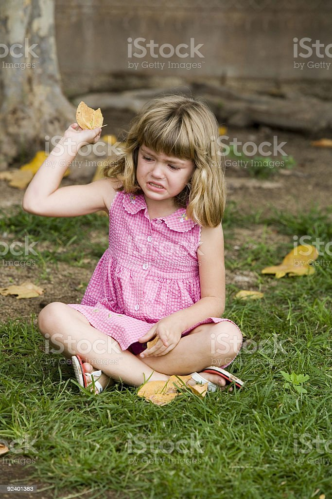 Having a Tantrum royalty-free stock photo